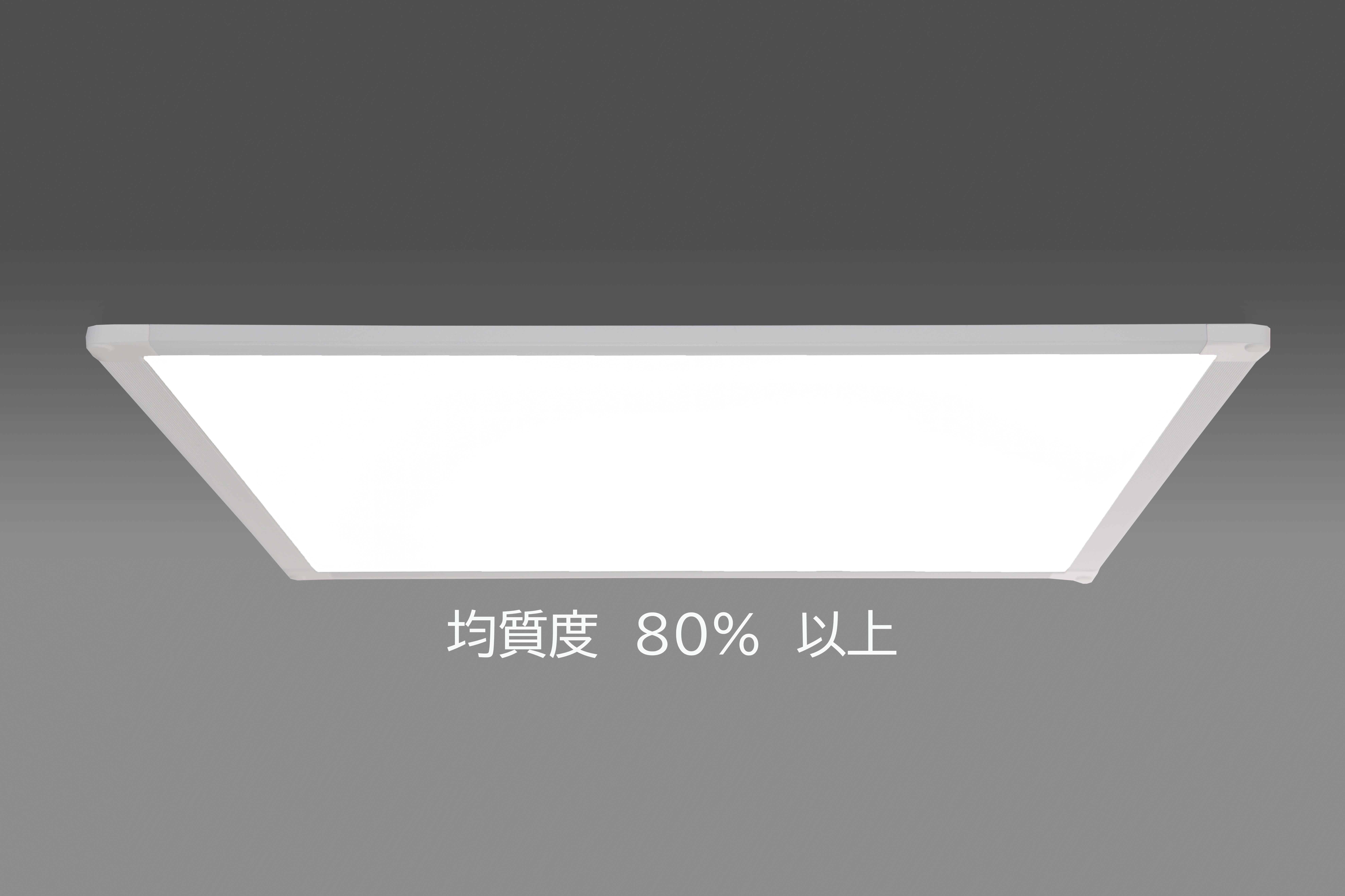 超薄型ベースライトの特長
